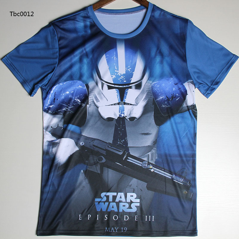 422716d6 Fashion 2016 3d t shirt Film Star Wars Graphic T Shirt for Men The ...