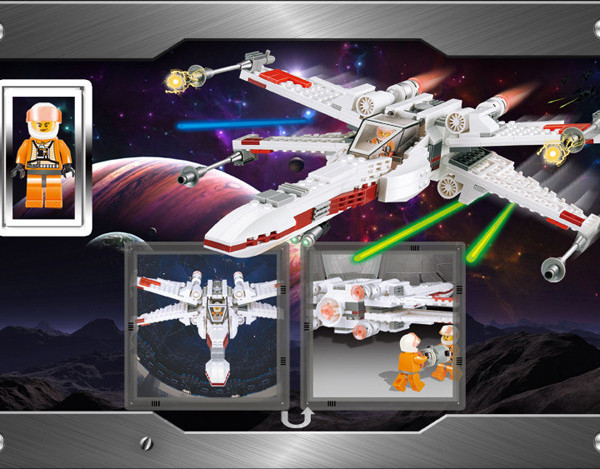 In Stock LEPIN 05027 Star Wars Imperial Star Destroyer